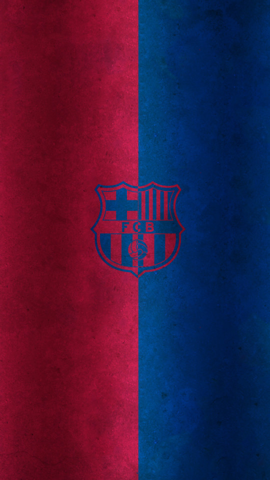 Red and Blue FC Barcelona Logo Wallpaper   iPhone Wallpapers 540x960