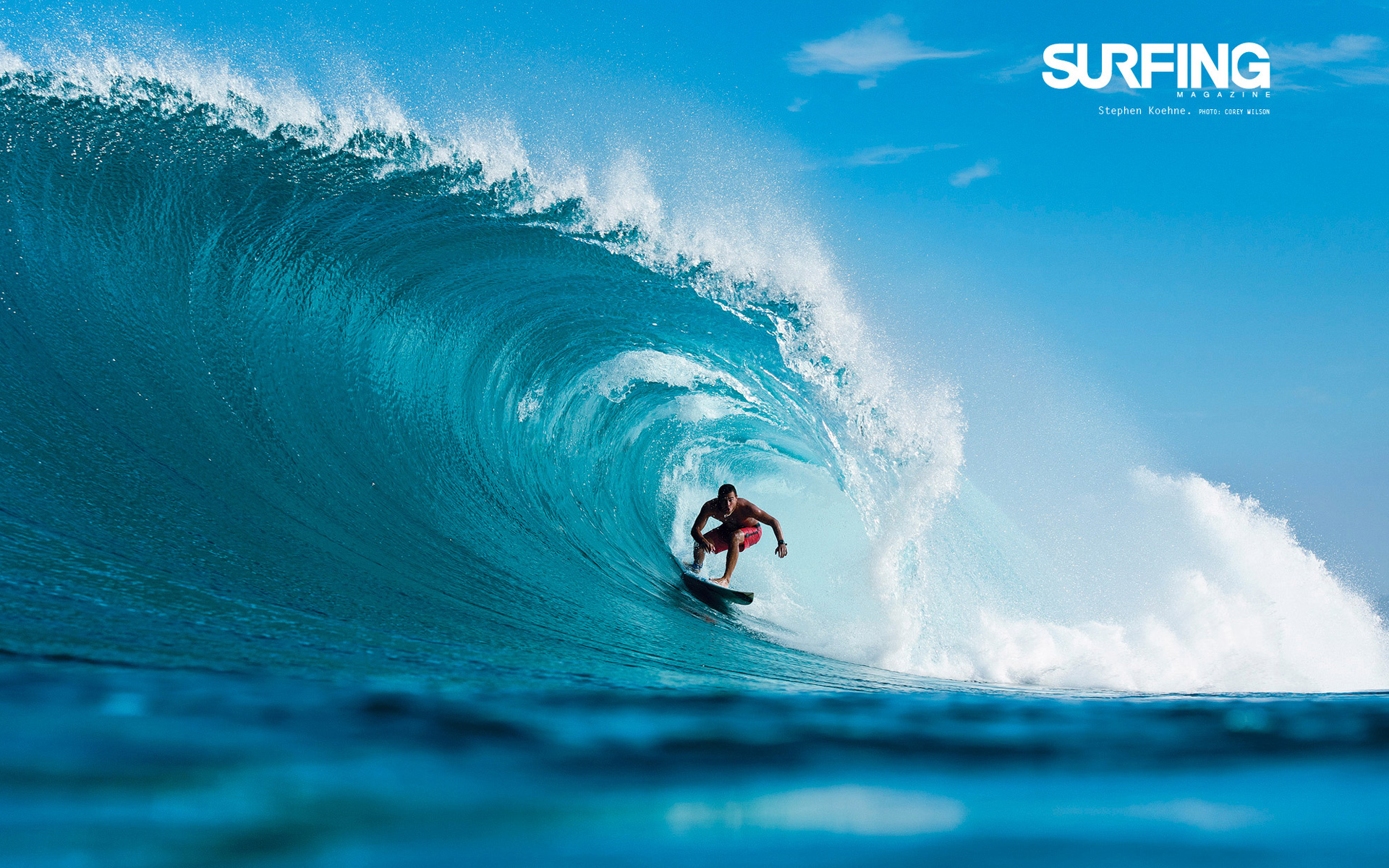 Surfing in Teahupoo Tahiti Wallpapers | HD Wallpapers