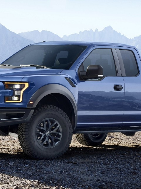 2016 Ford F 150 Raptor Cars HD Wallpapers 480x640