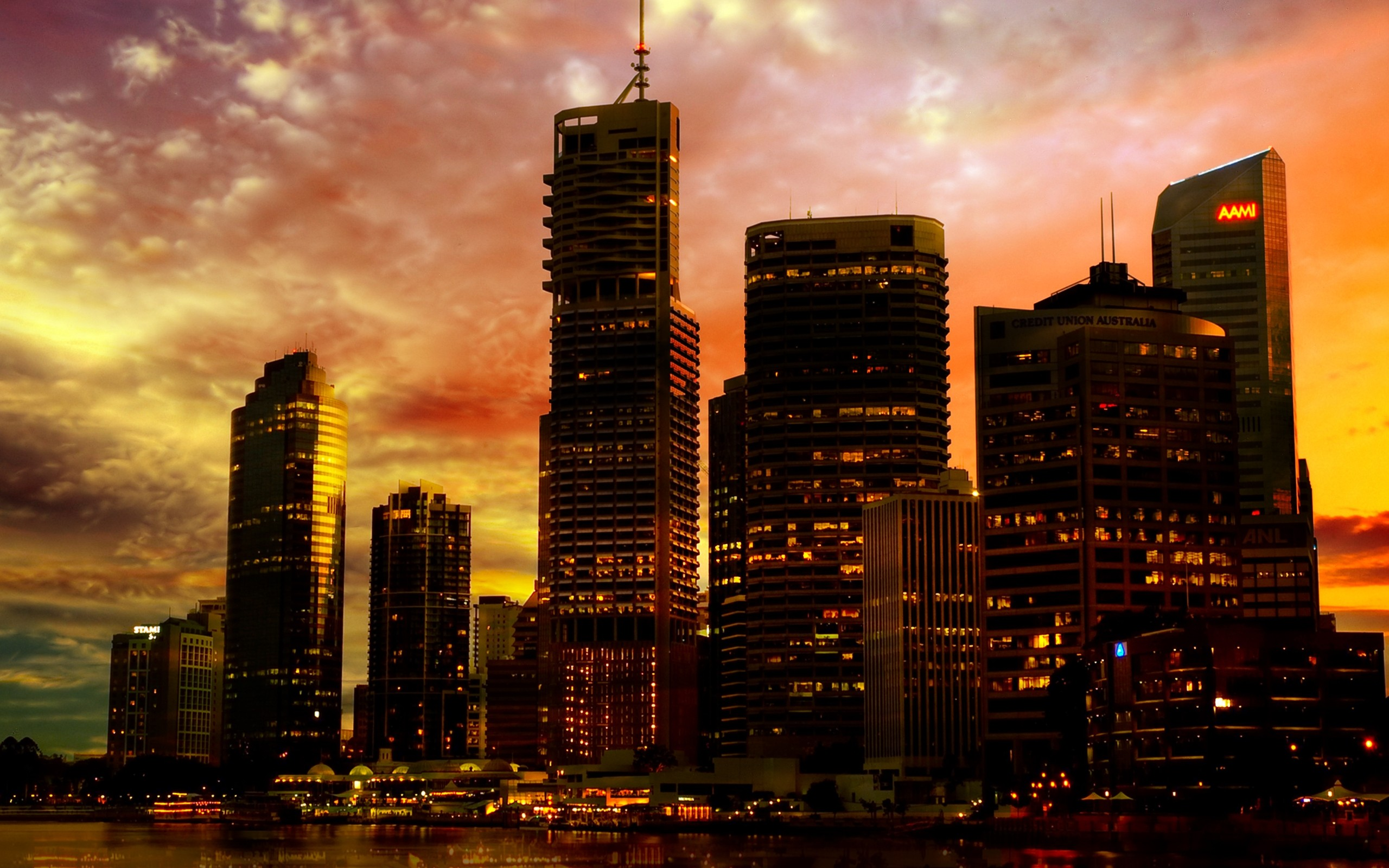 Brisbane australia wallpaper   Design Art Wallpaper 2560x1600
