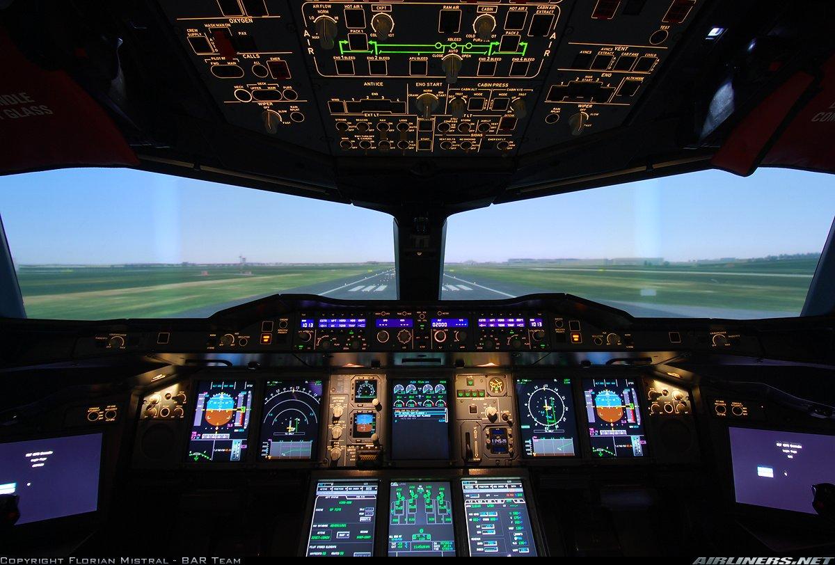 Airbus A380 Cockpit Wallpaper Images & Pictures - Becuo