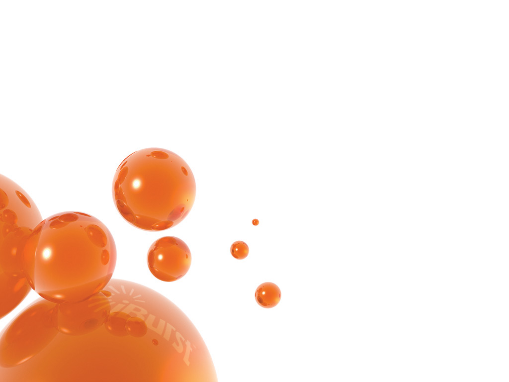 iburst white orange bubbles desktop 1024768 wanted wallpaper 1 1024x768