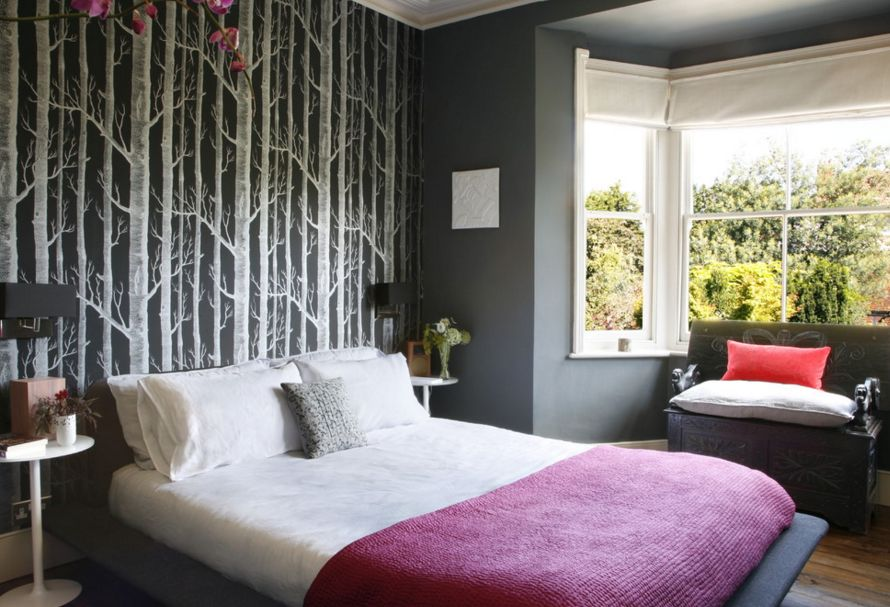 Free download 20 Ways Bedroom Wallpaper Can Transform the Space ...