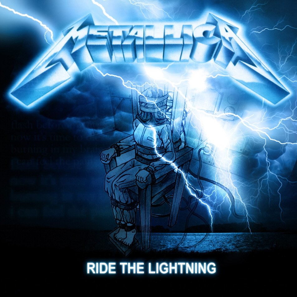 Metallica Ride The Lightning Wallpaper - WallpaperSafari