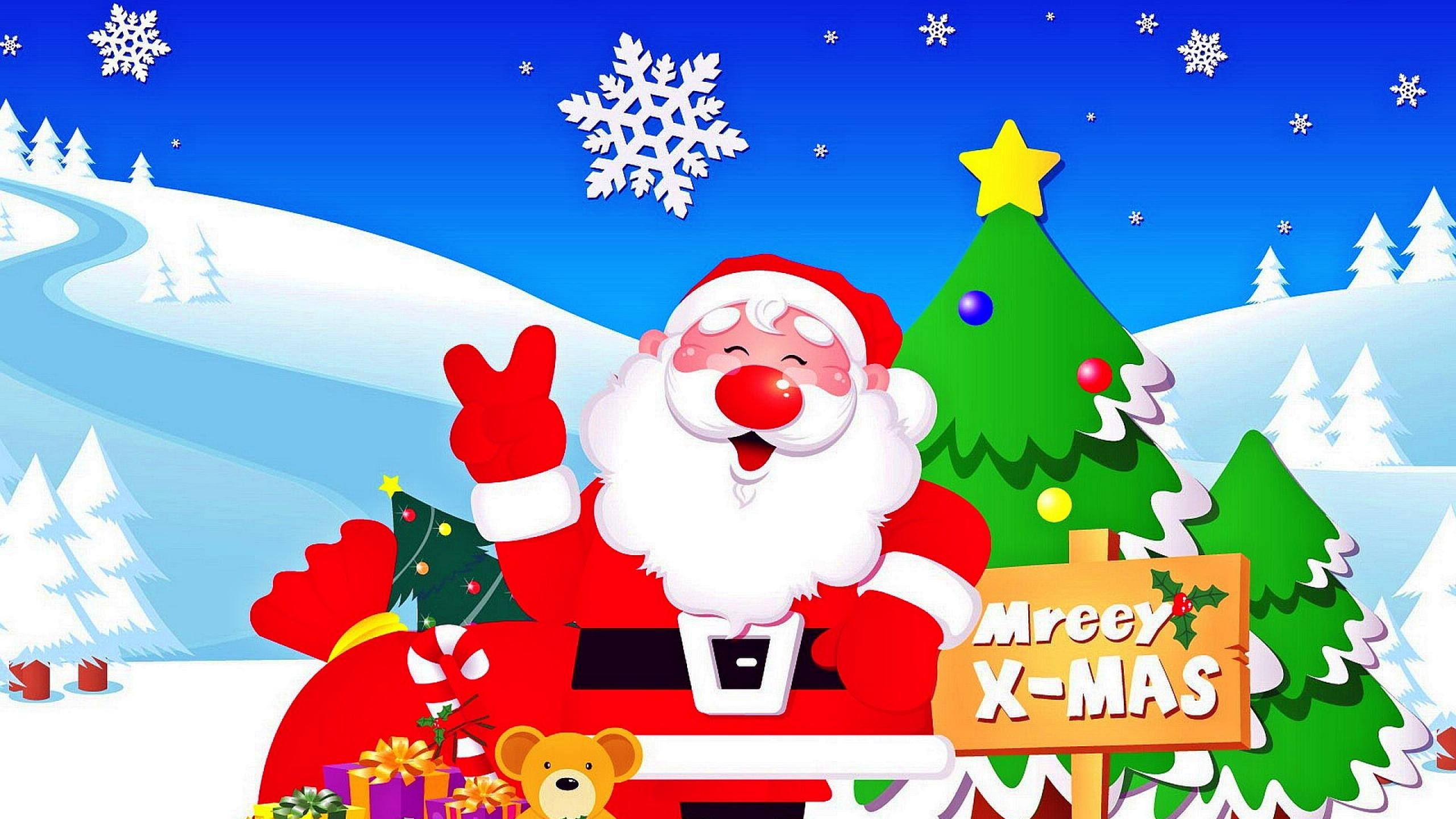 Download Cute Christmas Wallpapers 2560x1440