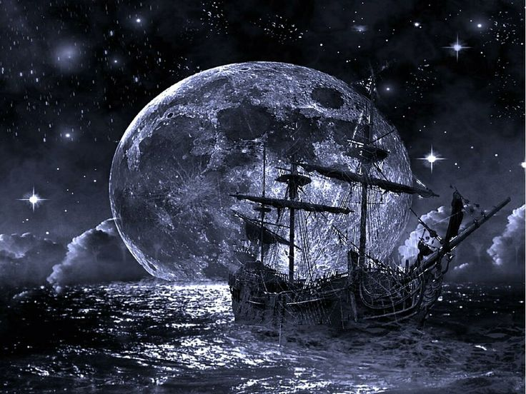 wallpaper Ghost Ship Ghost Ship Abstract Fantasy HD Desktop 736x552
