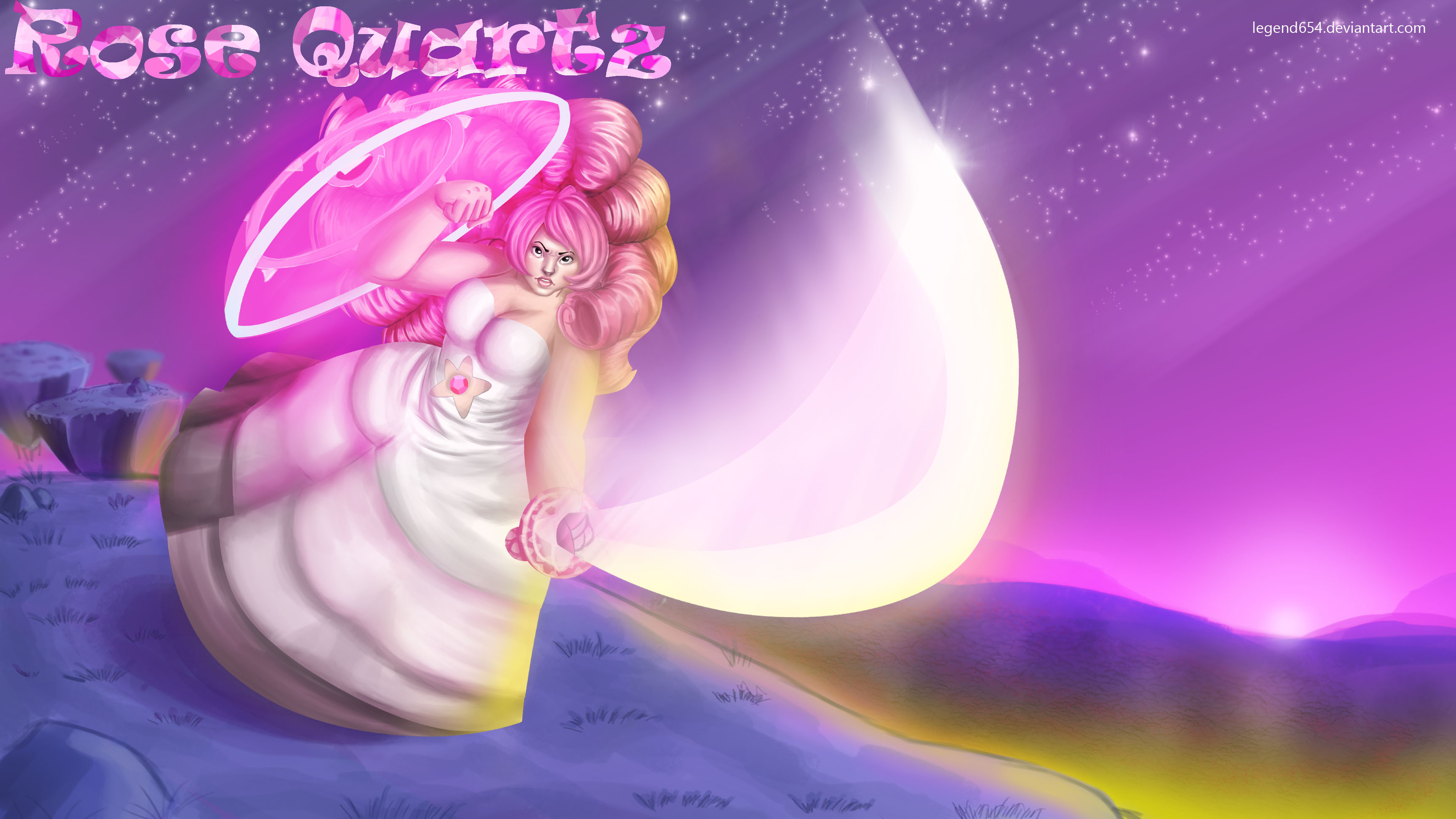 24 Rose Quartz Steven Universe Wallpapers On Wallpapersafari