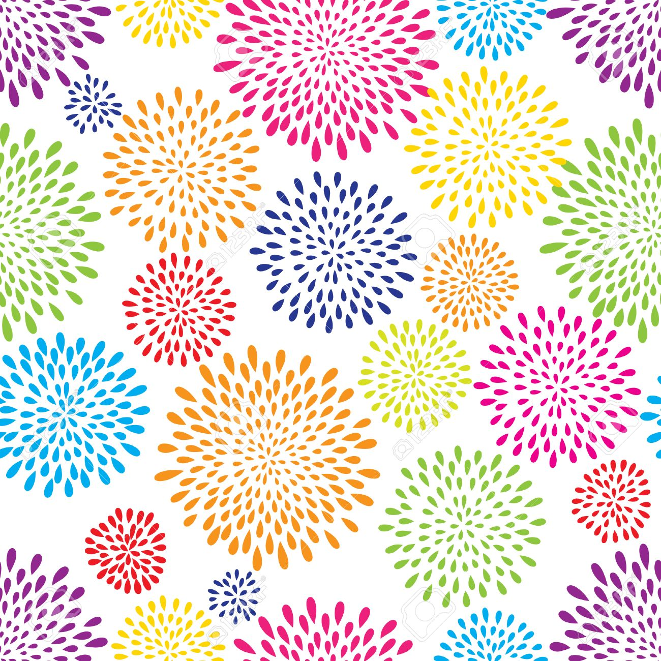 Abstract Pattern Firework Spot Background Abstract Drop Pattern 1300x1300