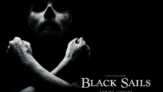 Wallpaper black sails serial captain flint toby stephens HD 640x360