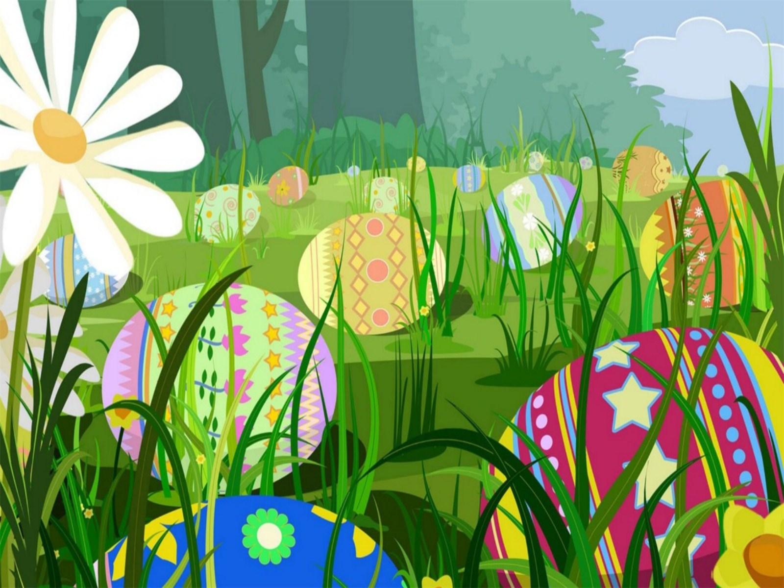 Easter Scenes Wallpaper Wallpapersafari