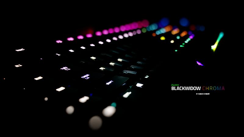 4K Razer BlackWidow Chroma by lc0ne 800x450