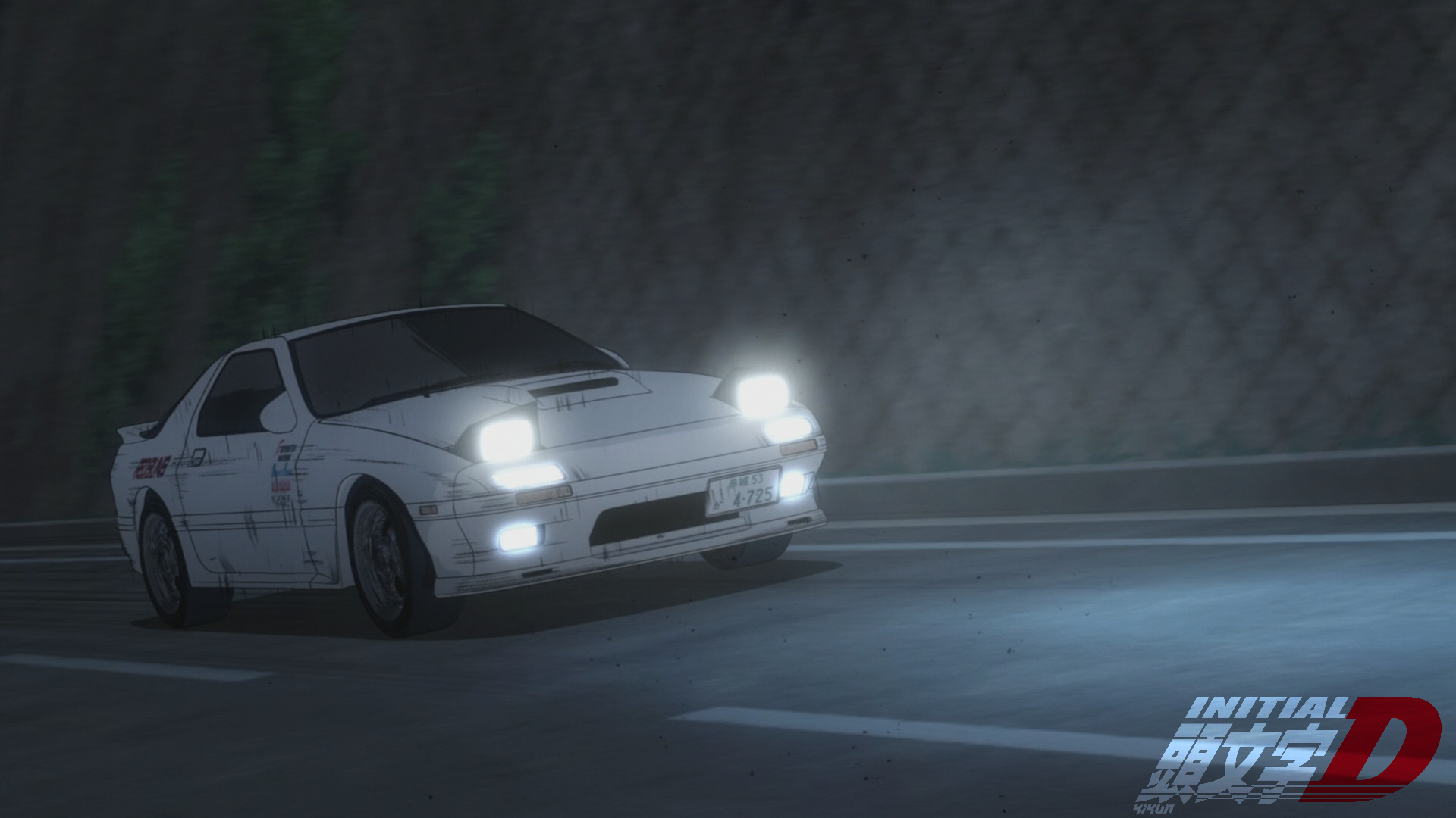 Made a wallpaper collection for Initial D fans [Part 1][1080p] [x 1920x1080