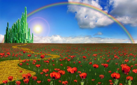 Go Back Gallery For Wizard Of Oz Emerald City Background 580x360