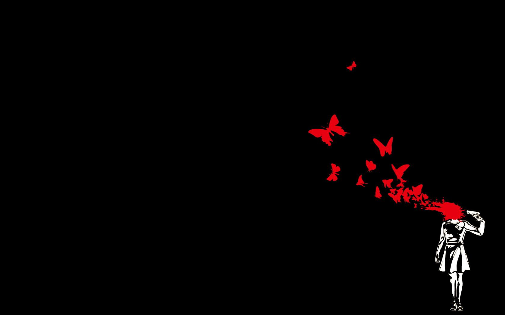 66+ Red Butterfly Wallpaper on WallpaperSafari