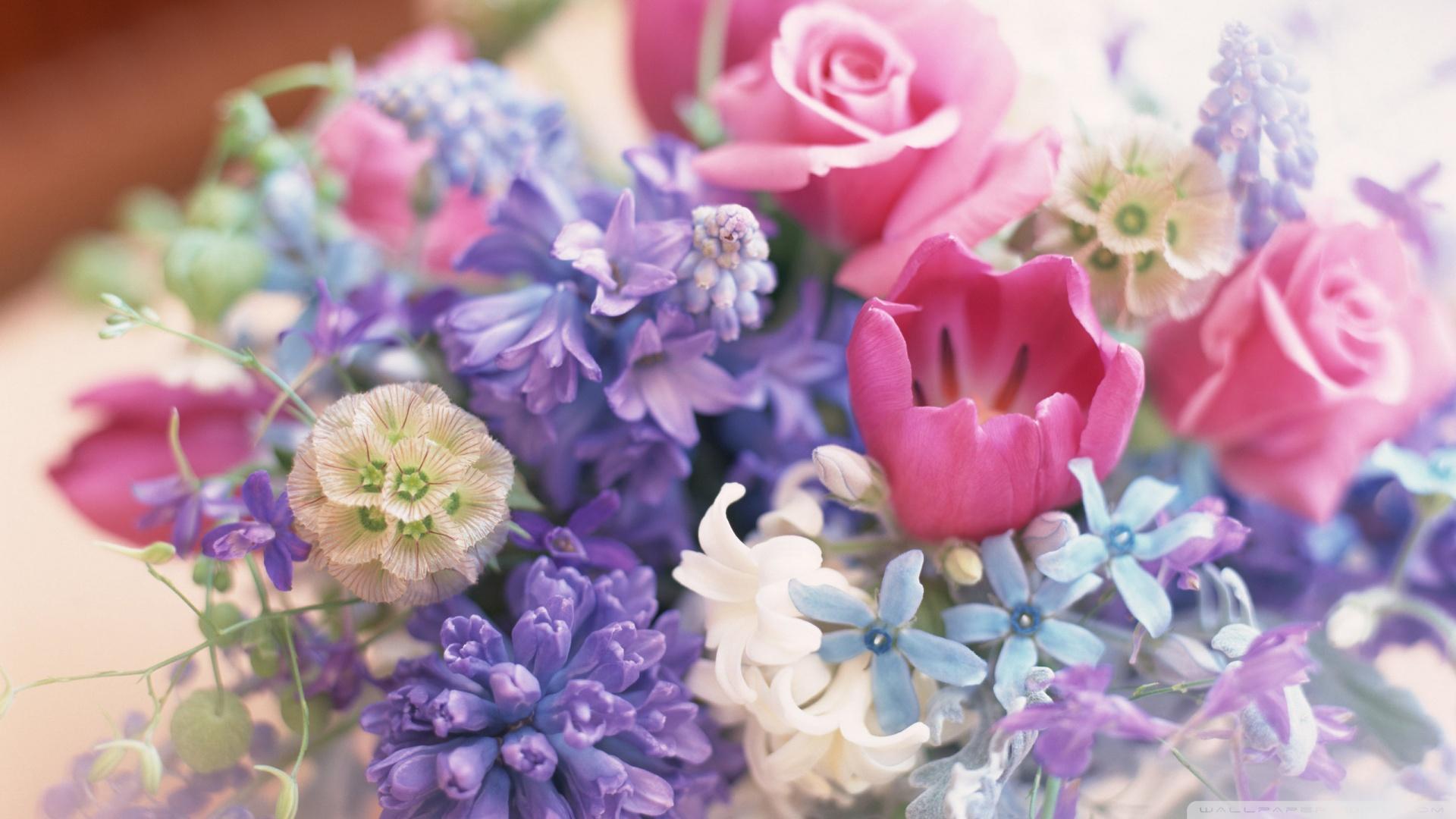 Flower Bouquet Wallpaper Wallpapersafari