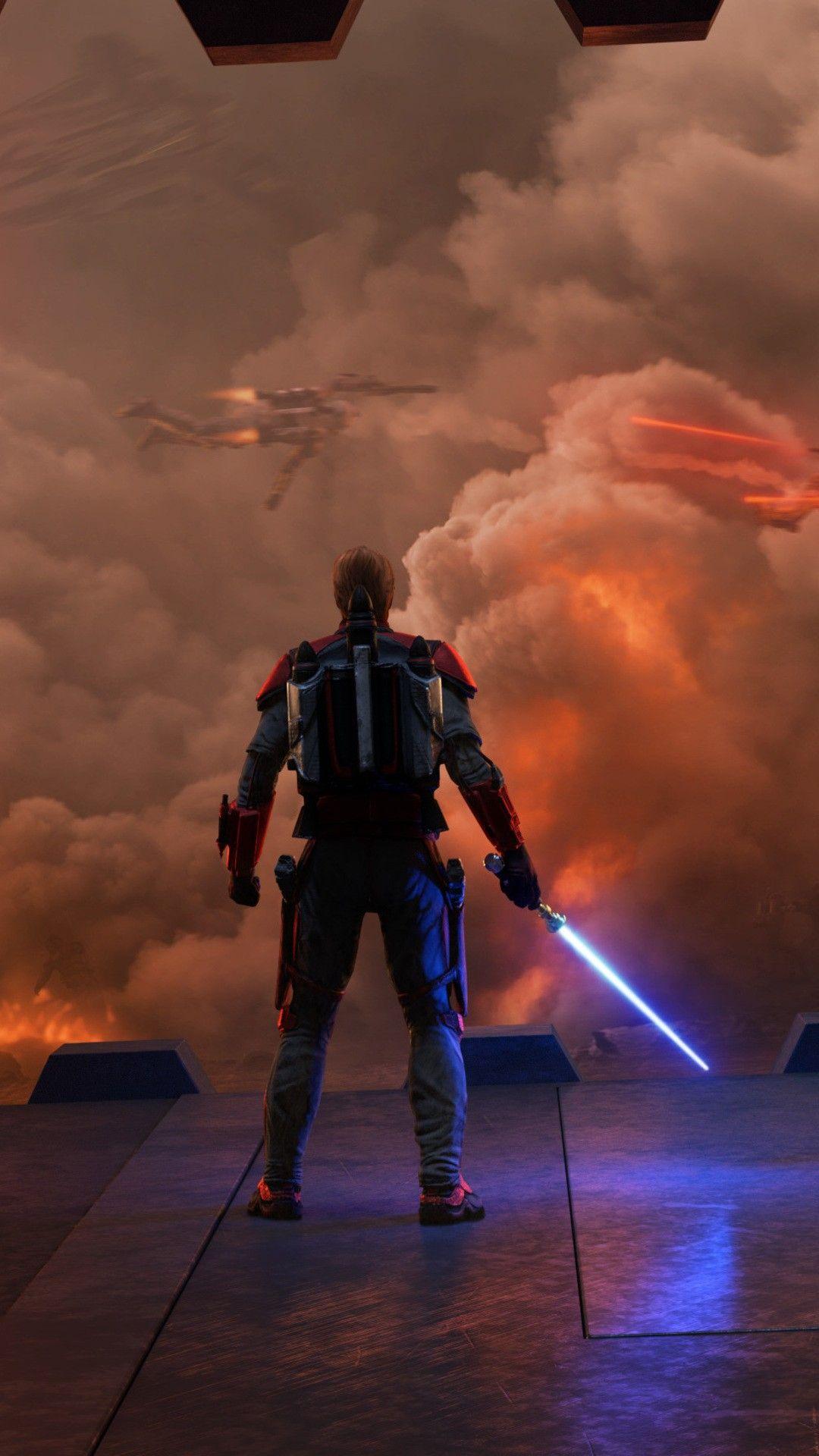 Star Wars Siege Of Mandalore Cs Wallpaper   [1080x1920] The 1080x1920