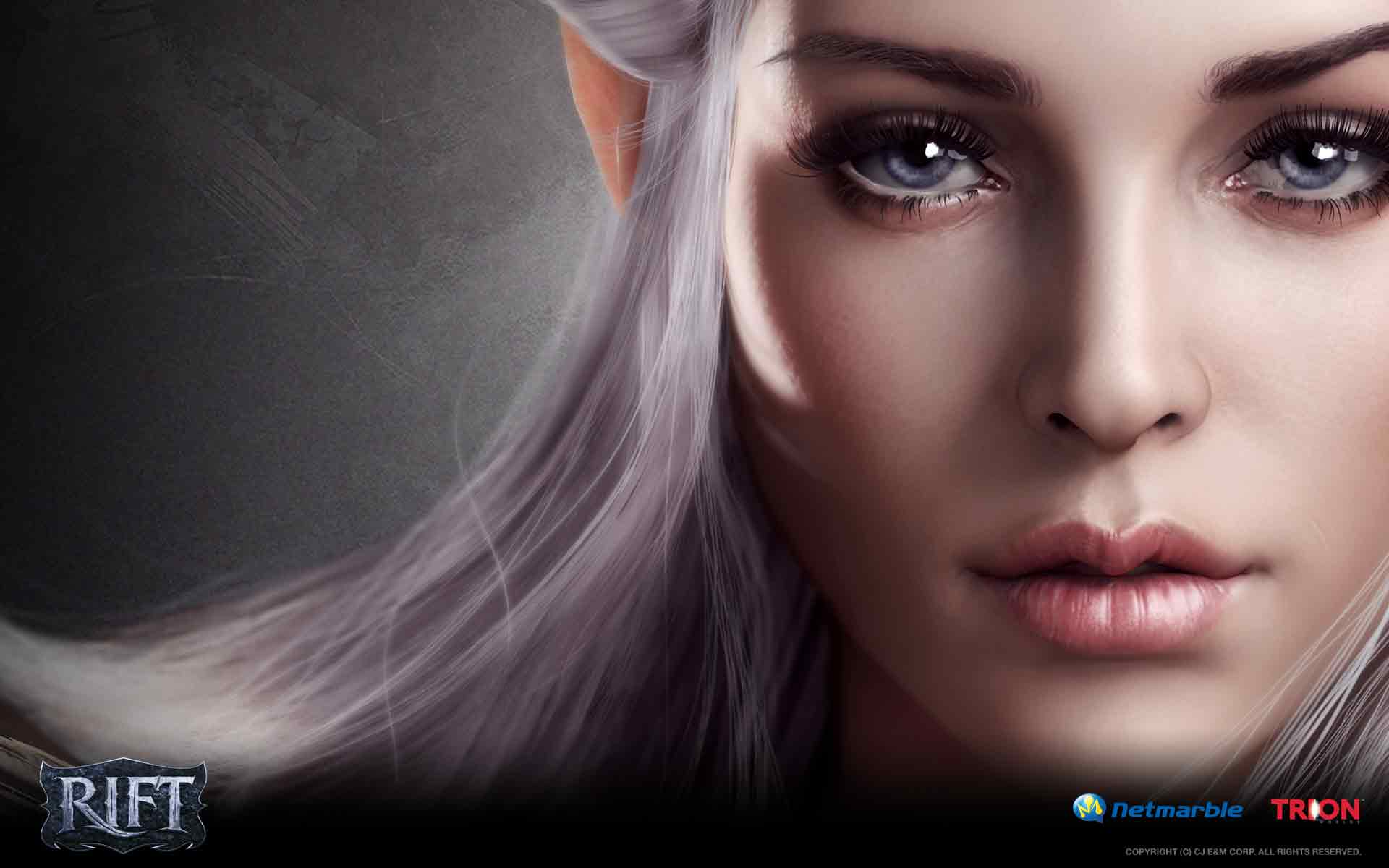 RIFT games fantasy elf girl warrior poster g wallpaper background 1920x1200
