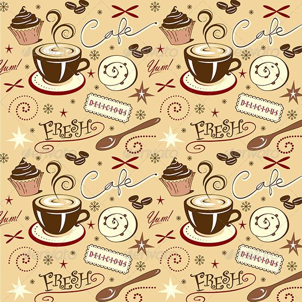 Coffee Shop Wallpaper