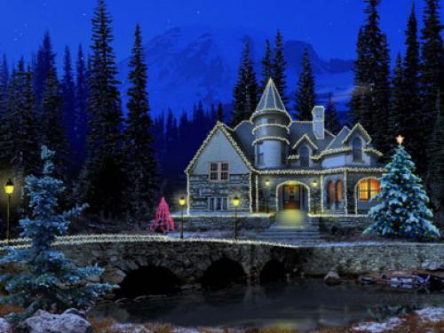 3D Christmas Screen Saver Screensavers   Download 3D Christmas 500x375