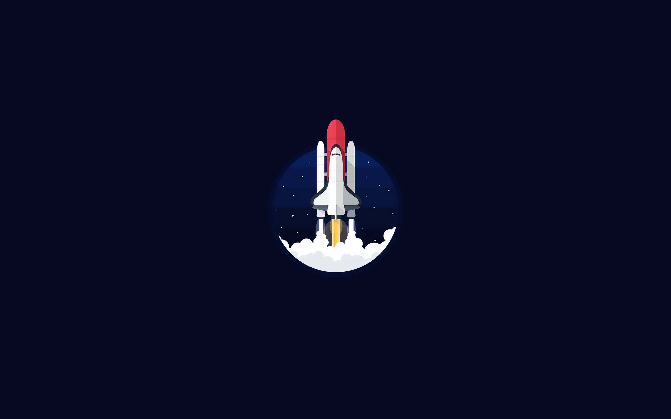 121020 Space Shuttle Dark background Minimal wallpapers and 2560x1600