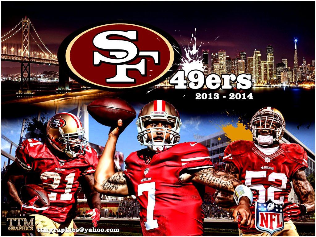 San Francisco 49ers Poster by tmarried 1024x768