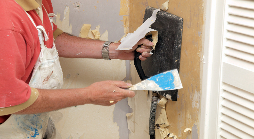 How To Remove Wallpaper Interior Painting Painter 985x539