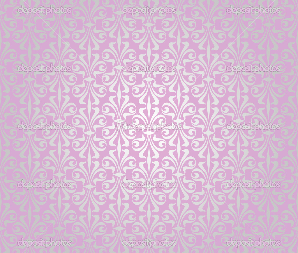 pink silver vintage wallpaper background design Stock Vector 1023x869