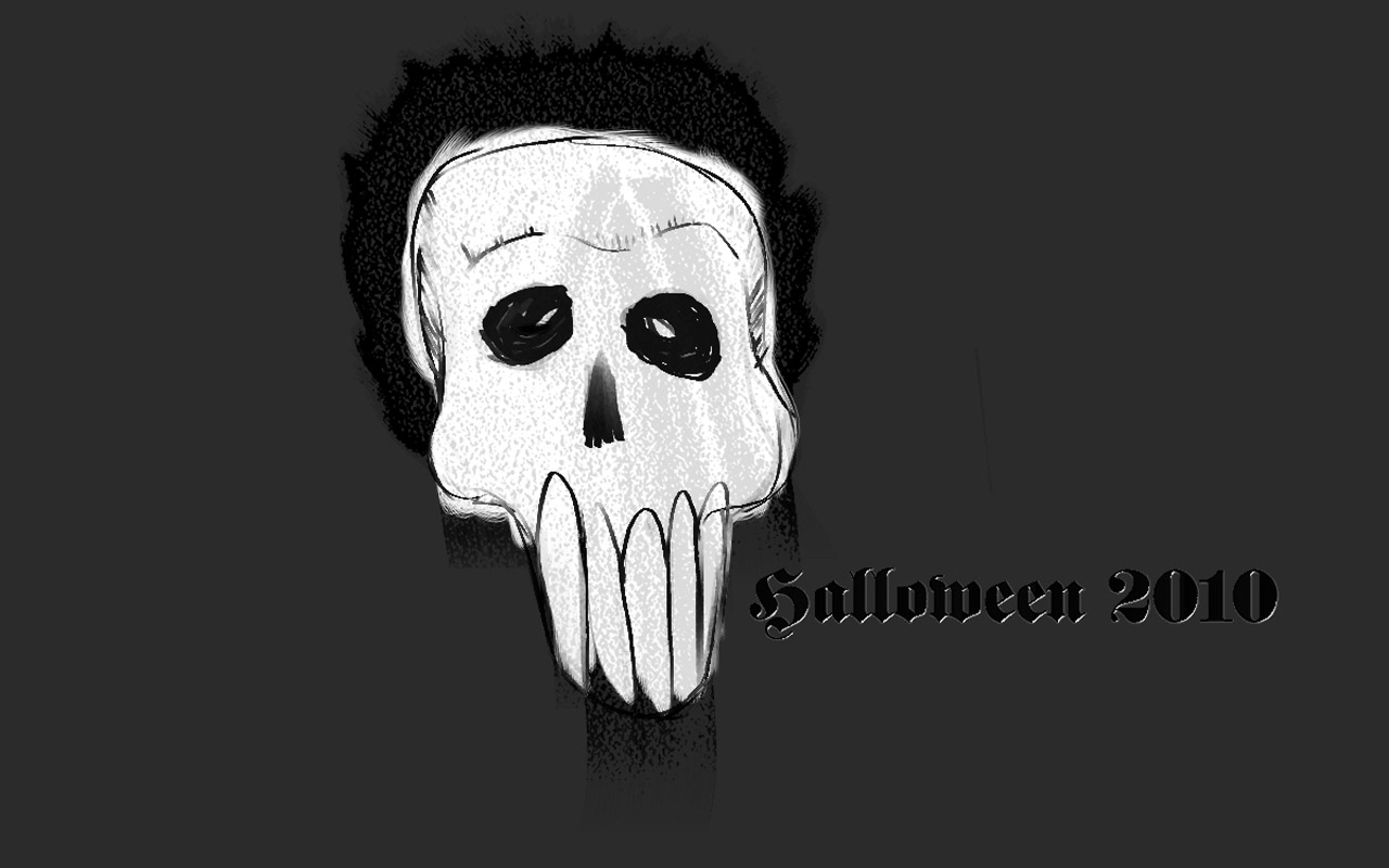 White Scary Skull wallpaper Wallpapers   HD Wallpapers 86532 1280x800