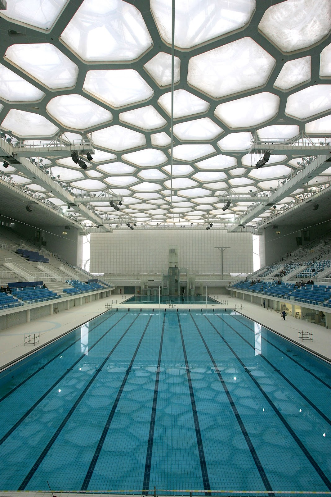 Olympic swimming pool wallpaper wallpapersafari for Beijing swimming pool olympics