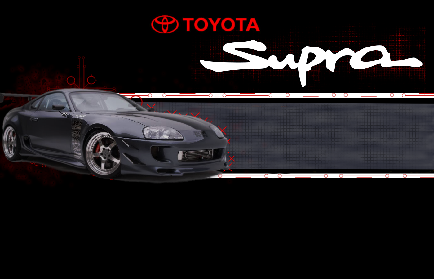 Toyota Supra Background For Desktop 588454 With Resolutions 1400900 1400x900