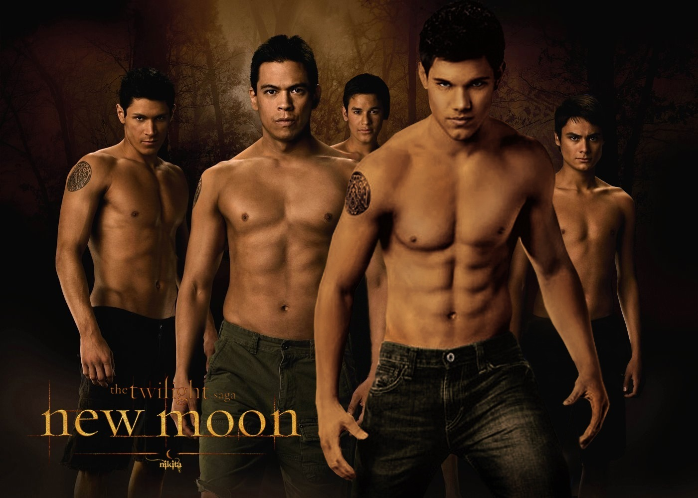 The Wolf Pack Pictures   The Twilight Saga Wolves Photo 26678961 1400x999