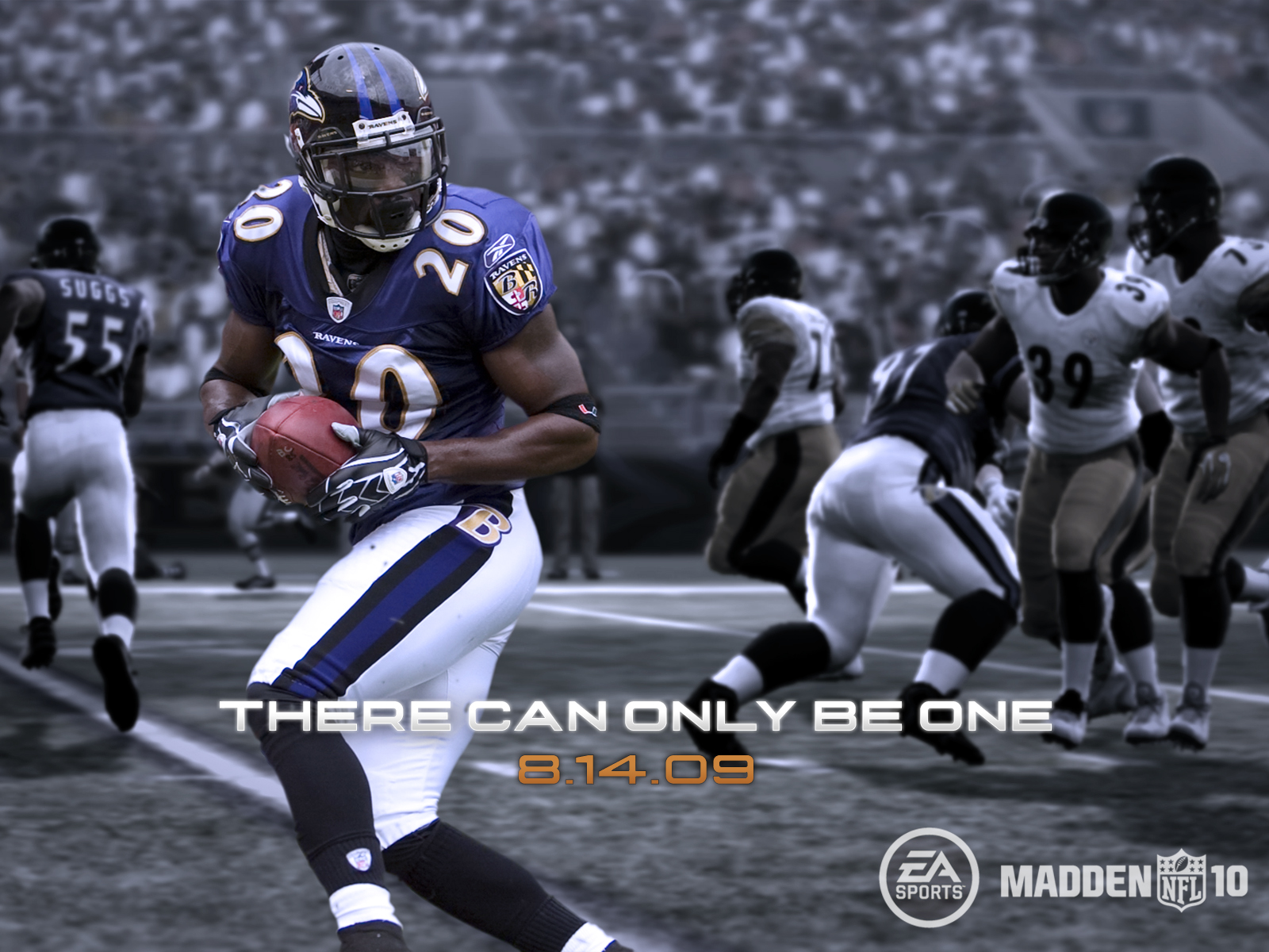 Wallpapers for Madden NFL 10 select size 1600x1200 1280x1024 1600x1200