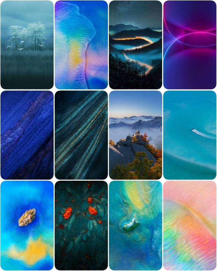 Download Huawei Mate 20 Pro and Mate 20 X Wallpapers and 720x900