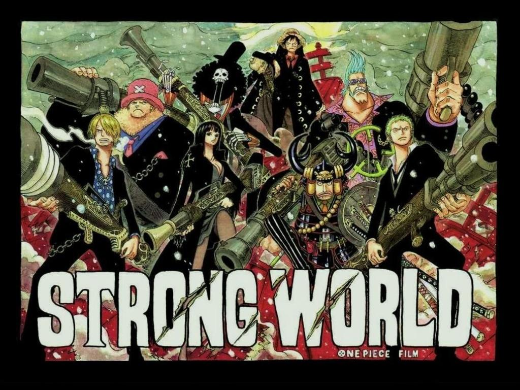 Free Download New One Piece Strong World Wallpaper Anime
