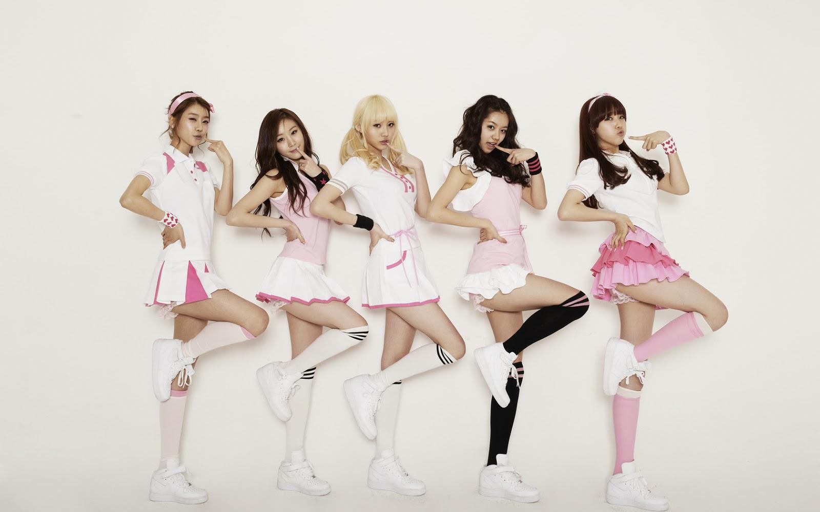 Free Download South Korean Five Girls Are Hd Desktop