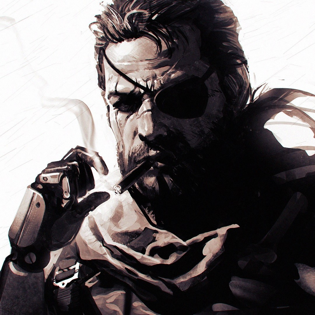 Venom Snake Metal Gear Solid V The Phantom Pain Ilya 1080x1080