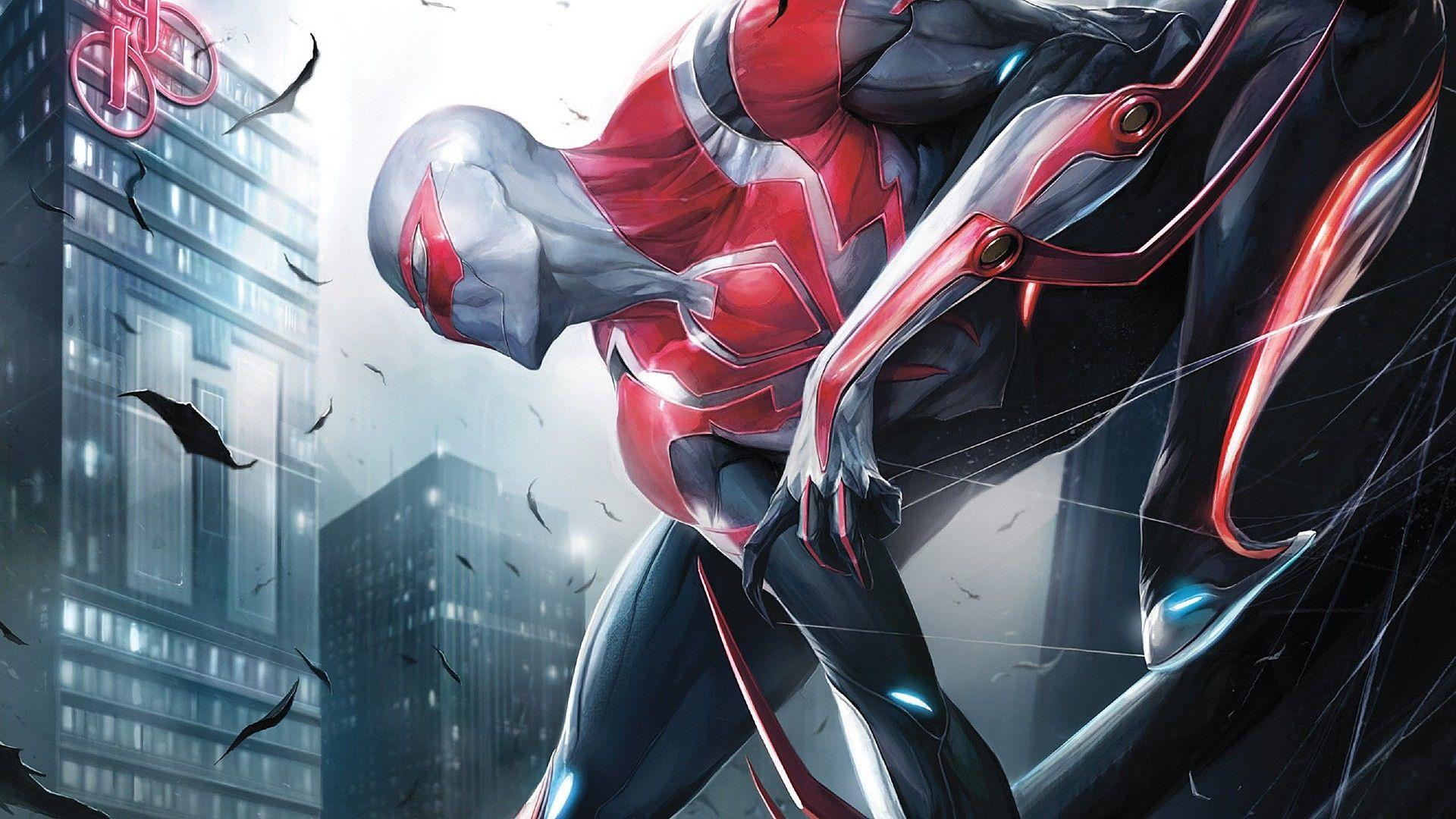 1920x1080 Spider Man 2099 Spider Man Marvel 1080p HD Wallpaper 1920x1080