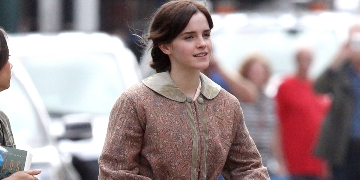 First Look at Emma Watson in the Little Women Remake   Little 1200x600
