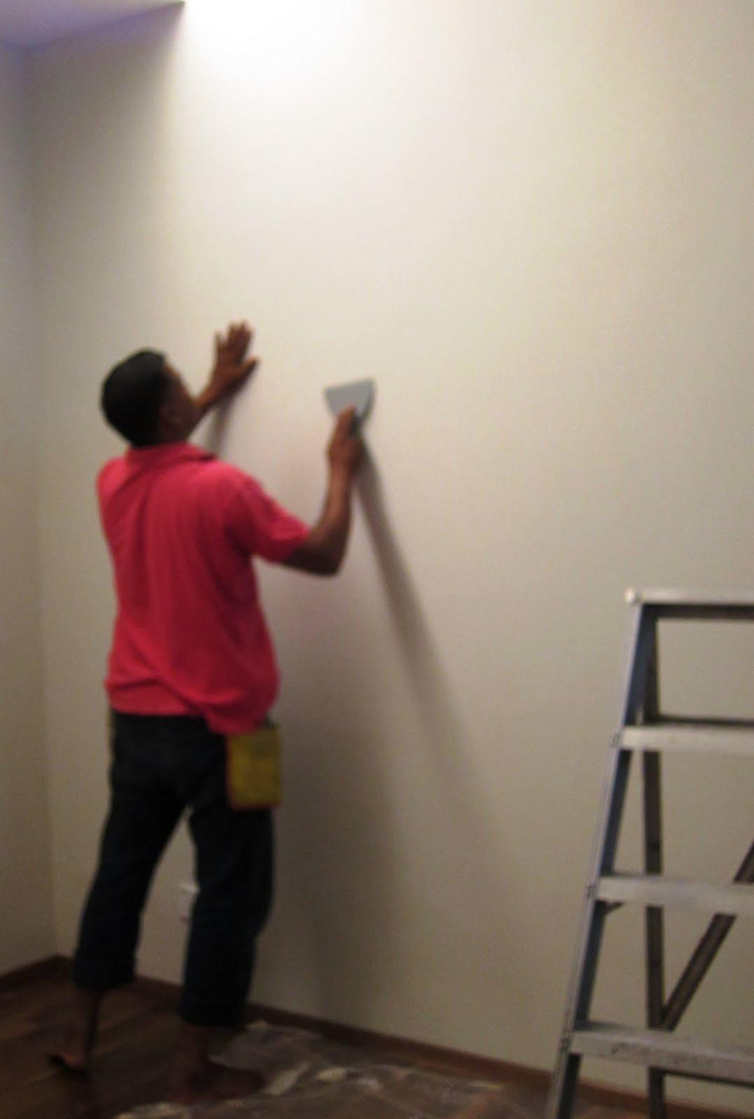 Skim Coat Over Wallpaper 1078x1600
