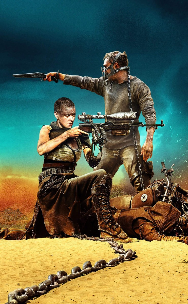 Mad Max Fury Road Movie 2015 HD wallpaper for iPhone 4 4s 740x1196
