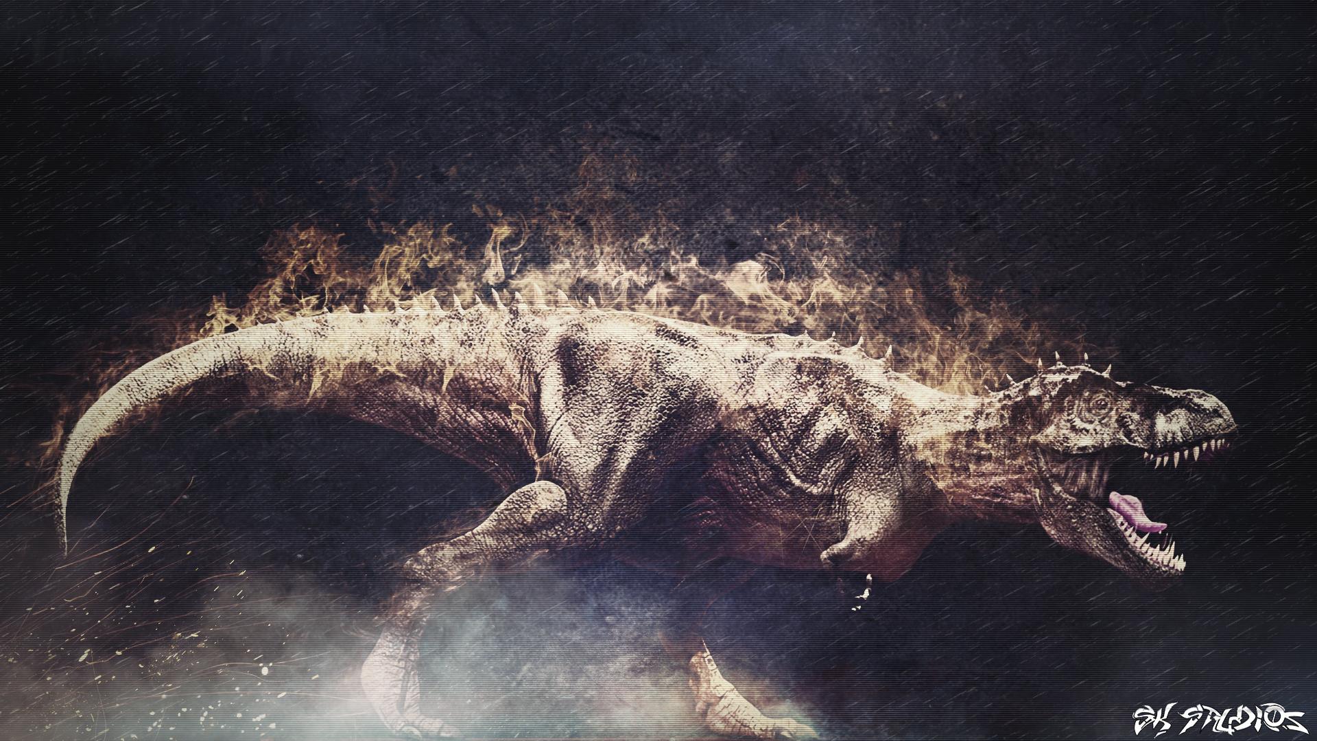 Animal   Dinosaur T rex Dino Reptile Animal Wallpaper 1920x1080