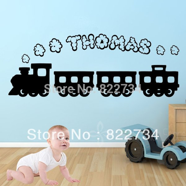 Name Vinyl Wall Stickers Wallpapers Wall Decals Graphic Boys for Kids 600x600