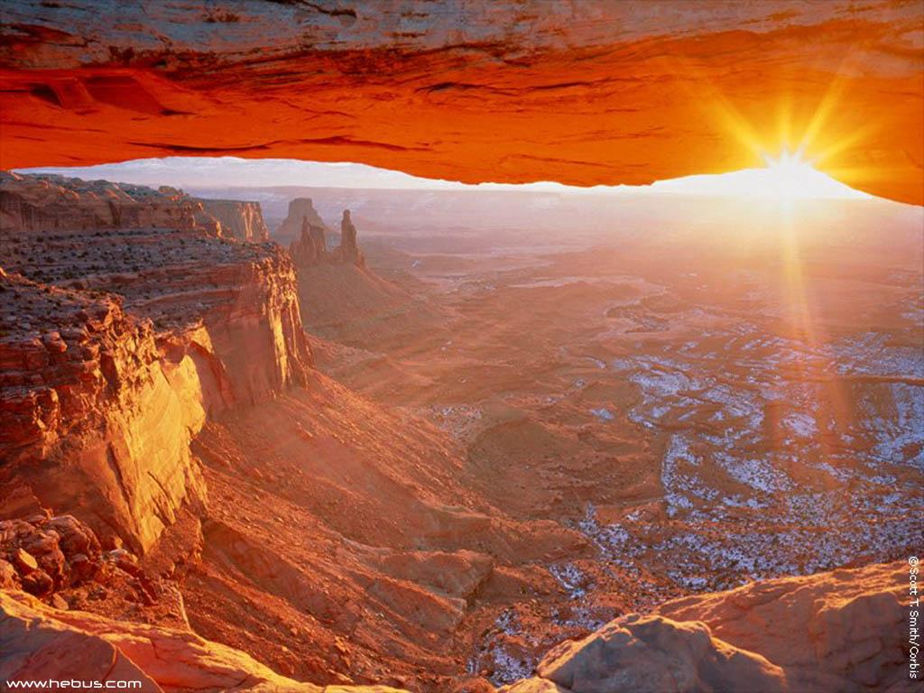 Закат над каньоном  № 241346 бесплатно