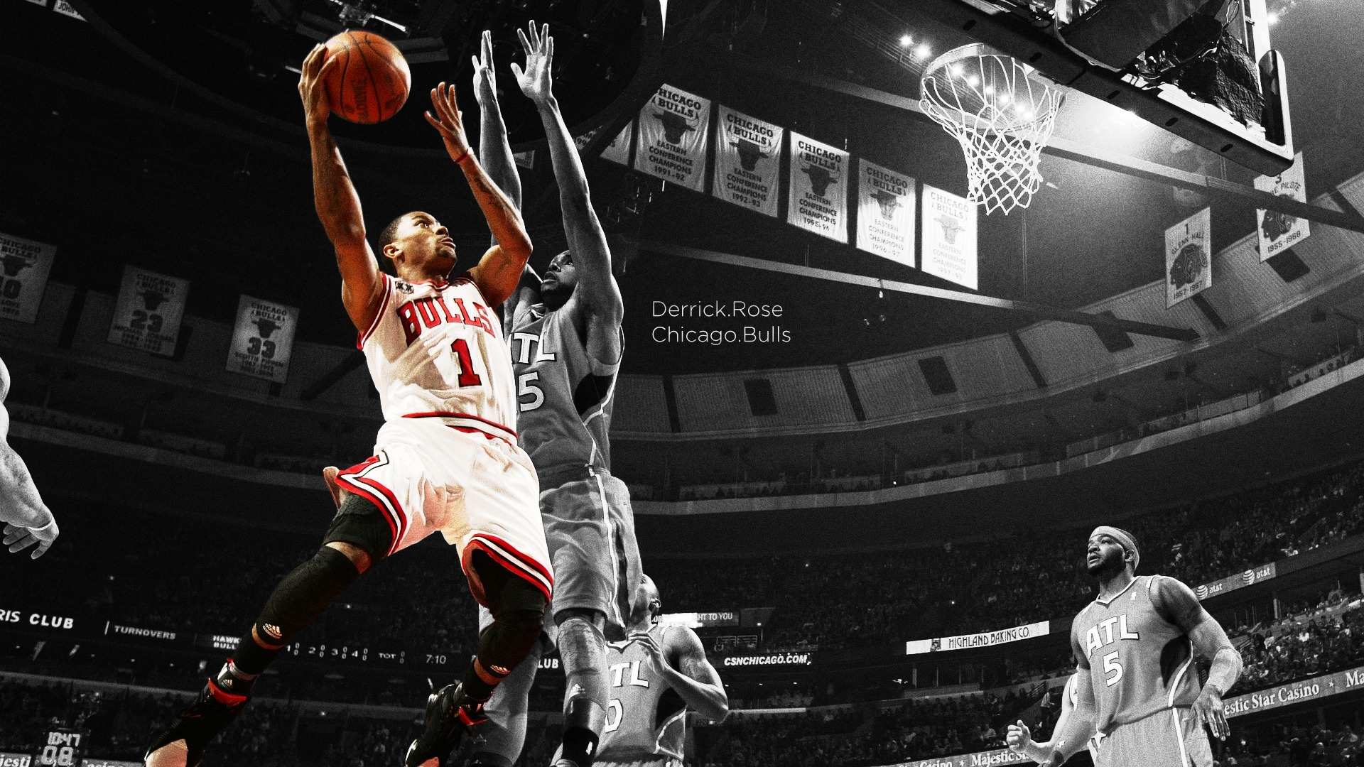 Derrick Rose Chicago Bulls Wallpaper 1920x1080