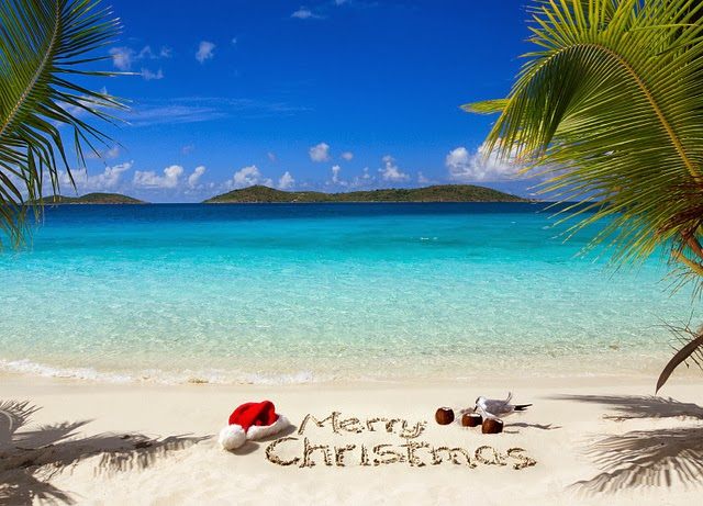 tropical christmas hd wallpapers by hd wallpapers blog which provides ...