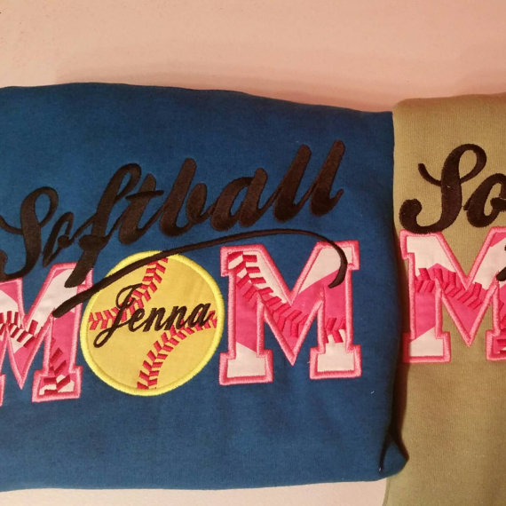 Baseball Mom Applique Shirt PC Android iPhone and iPad Wallpapers 570x570
