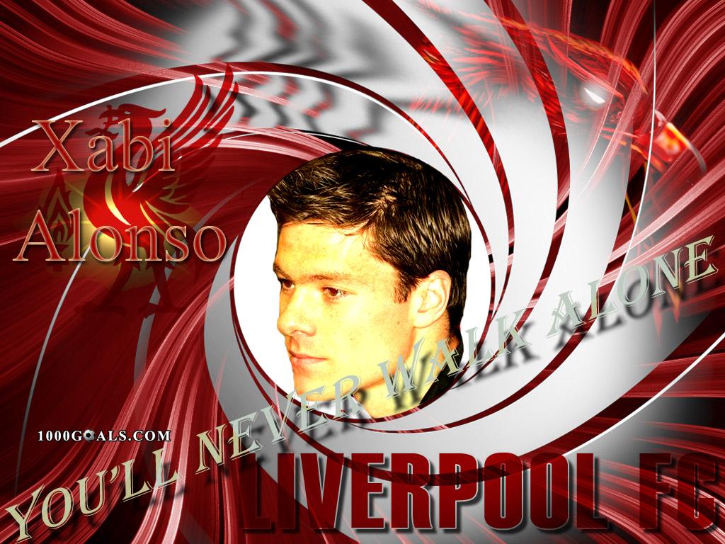 Xabi Alonso Liverpool wallpaper Football highlights   1000Goals 1024x768