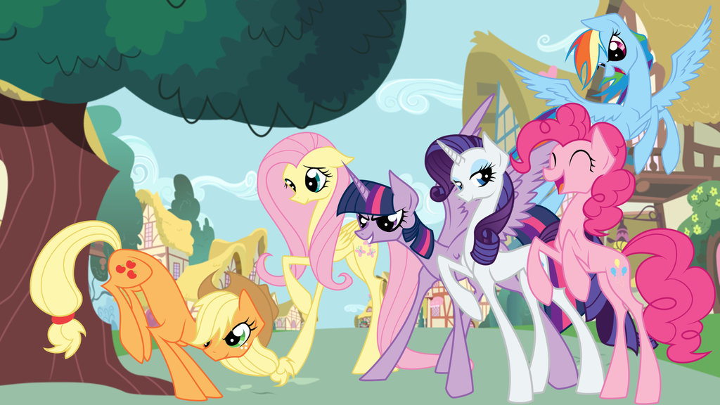 My Little Pony FIM by Basykail 1024x576