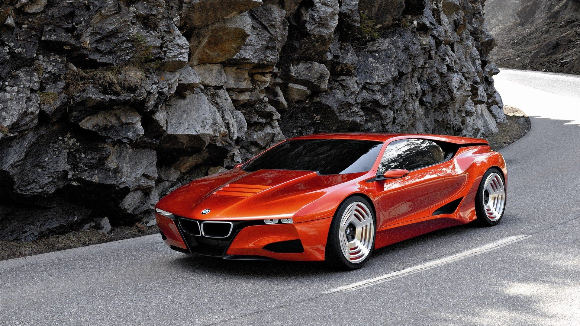 BMW M1 Homage Concept Red bmw wallpapers car wallpapers 1920x1080 1920x1080