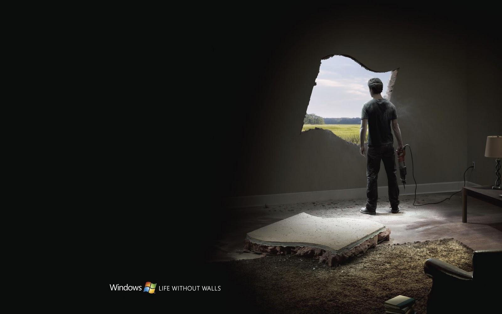 Black Color Windows 7 Wallpapers The Top Desktop HD Wallpapers 1600x1000